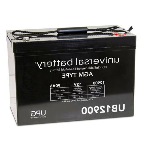 upg 12v 90ah battery for group 27