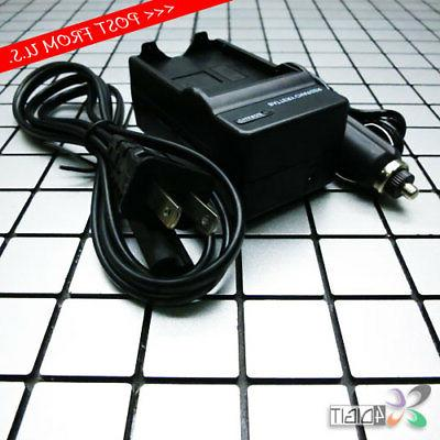 wall car battery charger for olympus li