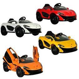 Mclaren P1 12V Battery Powered Kids Ride On Sports Car Vehic