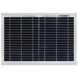 Mighty Max 10 Watt Polycrystalline Solar Panel Charger for C