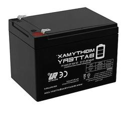 Mighty Max 12V F2 12AH SLA Battery for Little Tikes H2 Toy C