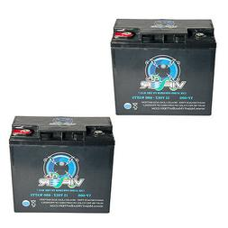 Mighty Max 2 Pack - Viper VP-600 600 Watt Car Audio Battery