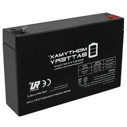 Mighty Max Ride On Replacement 6V 7AH Battery For Kids Ride