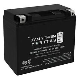 Mighty Max YTX20L-BS Battery Replacement for Yamaha YFM Kodi