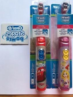 Oral B Stages Power Kids Disney Cars and Princess Electric B