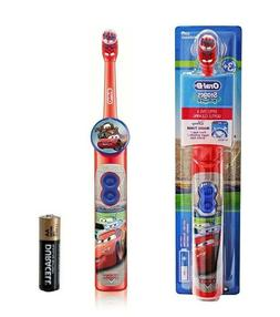 Oral B Stages Power Kids Disney Cars Electric Battery Toothb