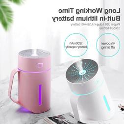 portable usb mini air humidifier cup diffuser