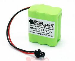 RC Car Model Robot Toys Rechargeable Battery Ni-MH 7.2V 1500