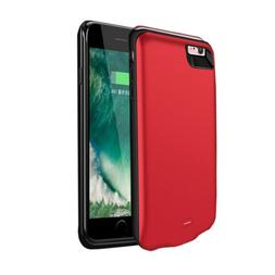 Red 2600mAh For iPhone 7 8 Car Magnetic Power Bank Battery C