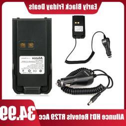 Retevis RT29 Ailunce HD1 Li-ion Battery + Battery Eliminator