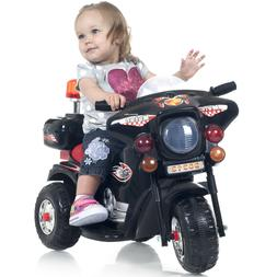 Ride on Toy 3 Wheel Motorcycle Colorful Decals with Car Soun