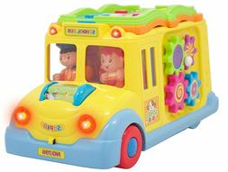 Smart School Bus Battery Powered Learn and Play Experience f