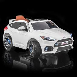 SUPERtrax® Licensed Ford Focus® RS Kids Ride on Car, w/MP3