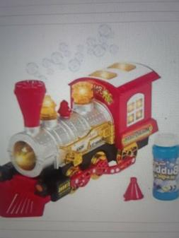 Train Toy For kids Bubble Blowing Battery Operated Car Toys