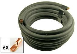Crimp Supply Ultra-Flex Car Battery/Welding Cable - 4 Gauge,