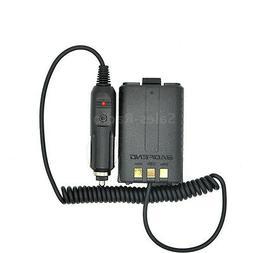 Baofeng UV-5R Battery Eliminator Car Charger Walkie Talkie C