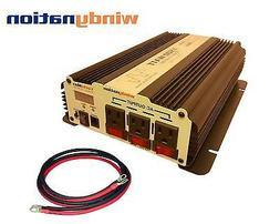 VertaMax 1500 Watt Power Inverter DC to AC Car, RV LED Displ